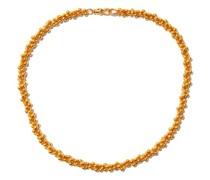 Popcorn 24kt Gold-plated Choker Necklace
