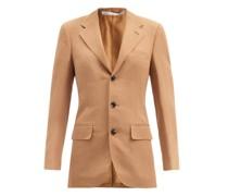 Andy Slubbed-poplin Suit Jacket