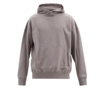 Dissection Cotton-blend Hooded Sweatshirt