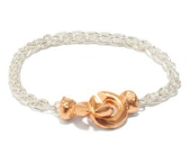 The Unwinding Answer 24kt Gold-plated Bracelet