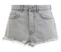 Tahiti Frayed-hem Denim Shorts