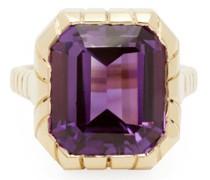 Amethyst & 14kt Gold Ring