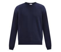 Crew-neck Cotton-piqué Sweater