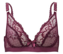 Carmelia Lace And Tulle Underwired Bra