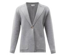 Orazio Single-breasted Wool-blend Blazer