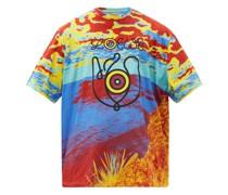 Digital-print Cotton-jersey T-shirt