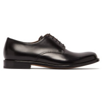 The Level Leather Derby Shoes