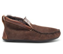 Dorm Shearling Slipper Boots