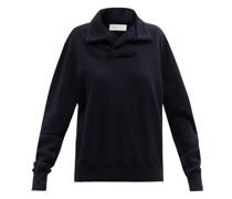 Yacht Brushed-back Cotton Sweatshirt
