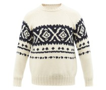 Fair-isle Wool Sweater