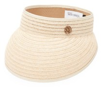 Patty Logo-plaque Hemp-straw Visor