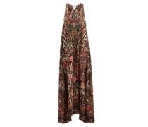 Liv A Little-print Silk Maxi Dress