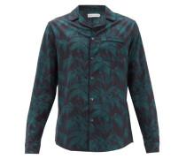 Byron-print Cotton Pyjama Top