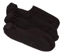 Pack Of Three Bamboo-blend Low-cut Socks