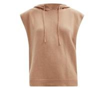 Juno Sleeveless Hooded Wool-blend Sweater