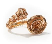 Tornado Diamond & 18kt Gold Ring