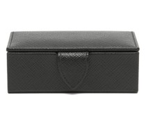 Panama Mini Leather Cufflink Box