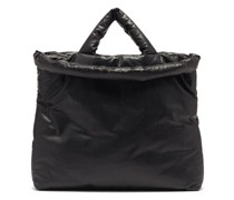 Oil Large Padded Coated-canvas Tote Bag