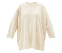 Facil Oversized Alpaca-blend T-shirt
