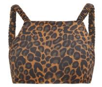 Tamarin Leopard-print Bikini Top