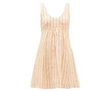 Emilia Striped Linen Mini Dress