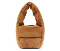 Monk Small Padded Suede Bag