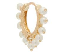 Coronet Pearl & 18kt Gold Single Earring