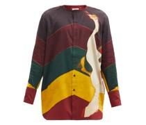 Frank Swan And Stripe-print Cotton Shirt