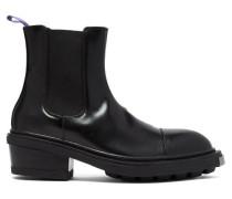 Nikita Heeled Leather Chelsea Boots