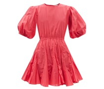 Molly Cutout-back Cotton-poplin Dress