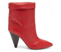 Luido Leather Ankle Boots