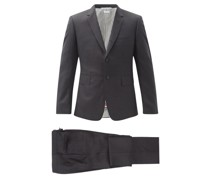 Super 120s Wool-twill Suit And Tie