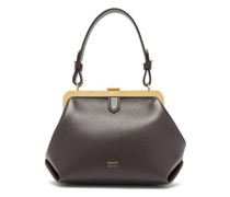 Agnes Small Leather Top-handle Bag