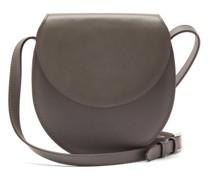 The Saddle Nappa-leather Cross-body Bag