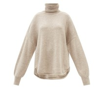 Oversized Alpaca And Wool-blend Rollneck Sweater