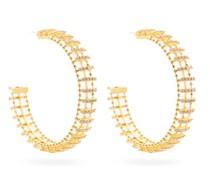 Dolce Vita Crystal-embellished Hoop Earrings