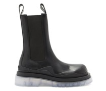Bv Tire Tread-sole Leather Boots