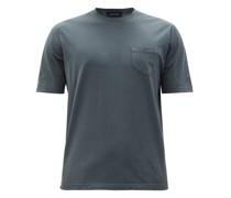 Patch-pocket Cotton-jersey T-shirt
