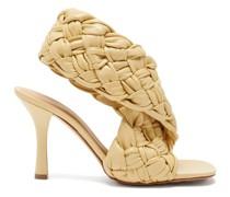 The Board Intrecciato Leather Sandals
