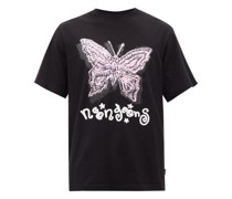 Fly High Printed Cotton-jersey T-shirt