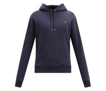 De Caur-logo Cotton-jersey Hooded Sweatshirt