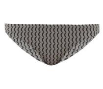 Naples Wave-print Bikini Briefs