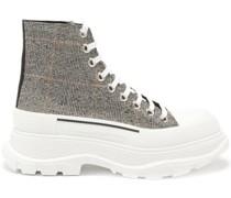 Tread Slick Exaggerated-sole Canvas Boots