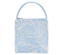 Augusta Bead-embellished Silk Handbag