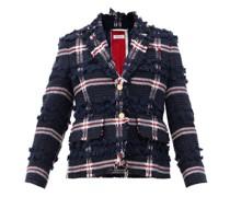Single-breasted Wool-blend Tweed Jacket