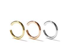 Set Of Three Trinity 9kt Gold Ear Cuffs