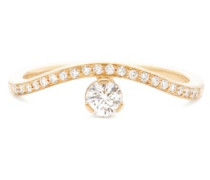 Grace Diamant Diamond & 18kt Gold Solitaire Ring