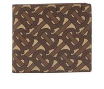Tb-monogram Coated-canvas Bi-fold Wallet