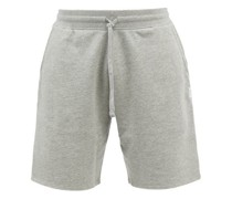 Logo-patch Cotton-terry Shorts