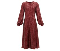 Zelda Sequinned Midi Dress